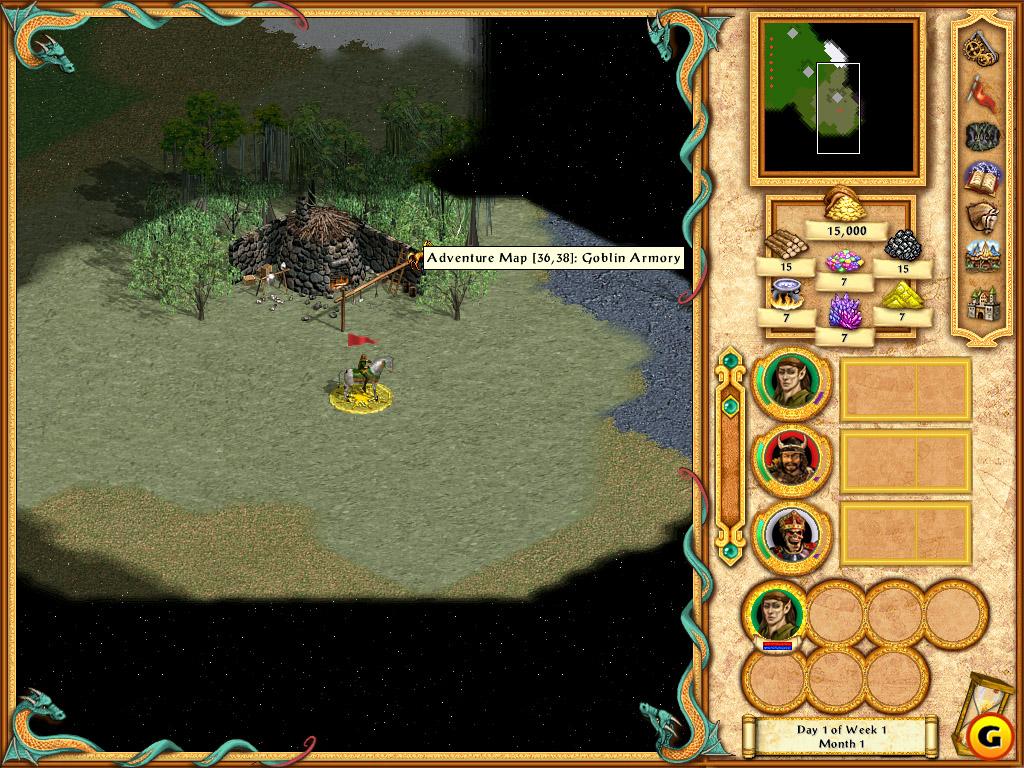 Герои меча и магии 4. Вихри войны - дополнение к любимым Героям 4