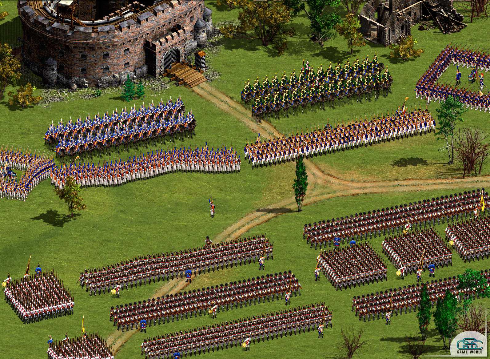 Казаки Европейские войны / Cossacks European Wars (2001) PC торрент